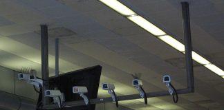 Security Cameras at Birmingham New Street Station