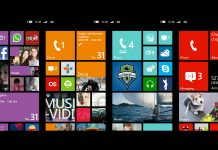 Microsoft Windows Phones start screens