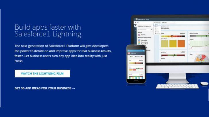 Salesforce Lightning fast mobile development