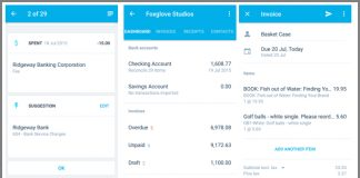 Xero Touch app for Android