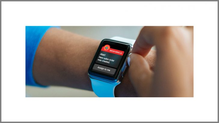 Infor collaborates with Apple Watch