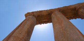 Separate Columns in Excel, (Columns at Ballbek - Lebanon) Image Credit Freeimages.com/Aristock