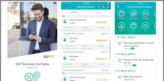 SAP Business One for Sales screen shots (Source SAP)