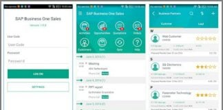 SAP Business One on Android (Image SAP)