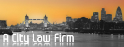 A City Law Firm Logo (Image credit : A City Law firm