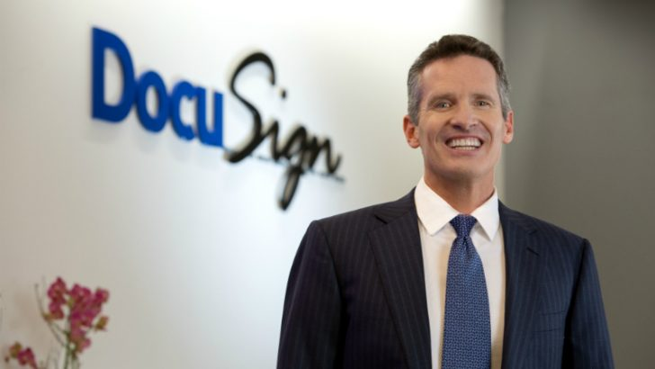 Daniel Springer, CEO at Docusign (`