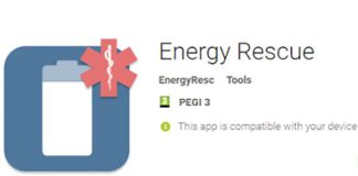 Energy Rescue installs Charger ransomware on Android