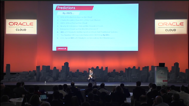 Mark Hurd: 8 predictions for IT by 2025