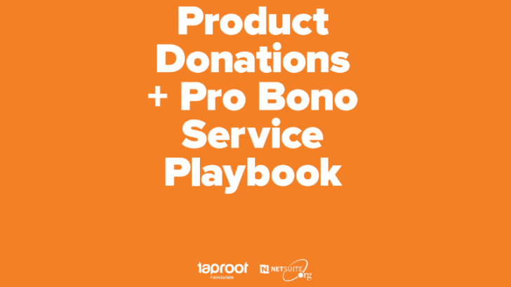 Probono Playbook – Simple steps to better social change