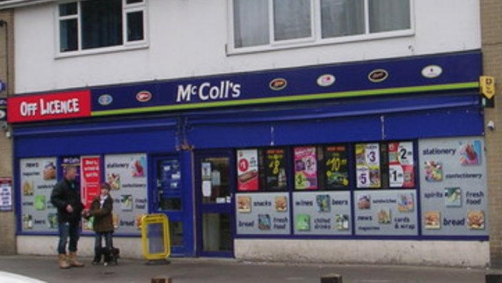 McColl's By Betty Longbottom [CC BY-SA 4.0 (http://creativecommons.org/licenses/by-sa/4.0)], via Wikimedia Commons