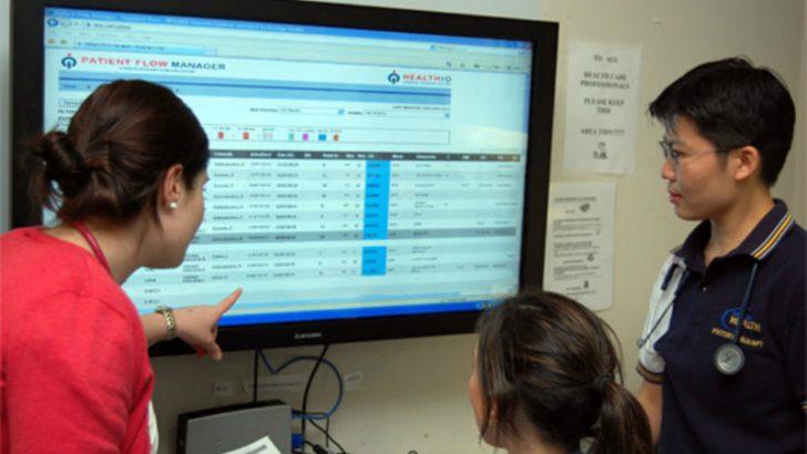 Patient Flow Manager (Image credit Telstra/HealthIQ)