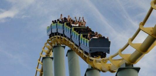 roller coaster -Image source : FreeImages.com / James Williams Sept 18 2004