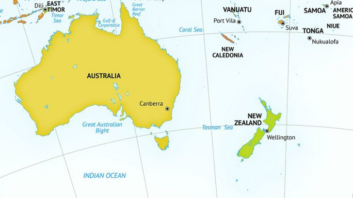 Australia and New Zealand get Spot Buy Image credit Pixabay.Onestopmap