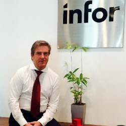 Bruno Pagani, Sales Director at Infor (Image credit LinkedIn/Bruno Pagani)