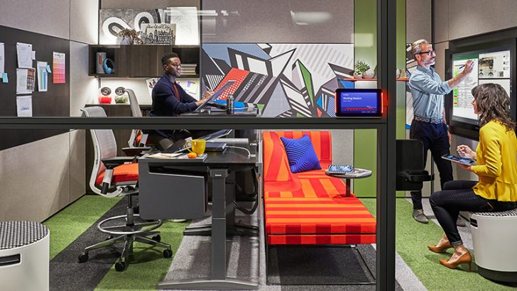 Microsoft and Steelcase deliver Creative Spaces