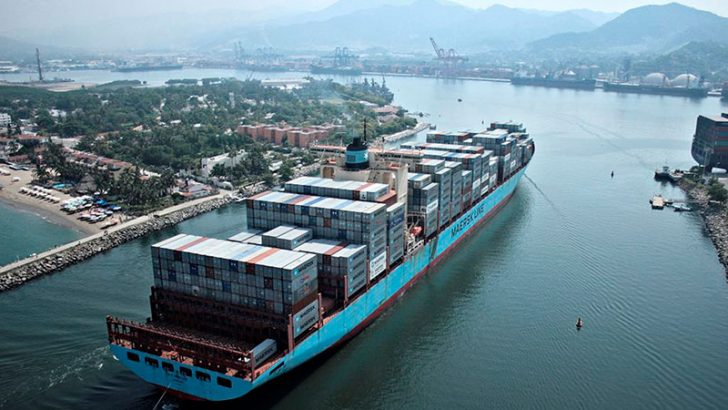 Blockchain to help Maersk track supply chain