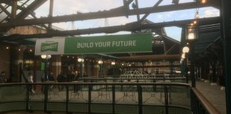 QuickBooks Connect at Tobacco Dock (Image credit S Brooks)