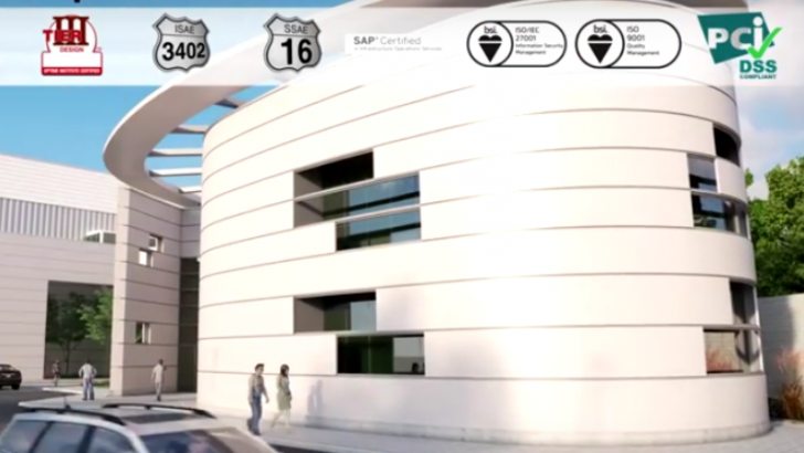 Image from virtual tour of SP3 (Image credit Equinix) http://www.equinix.com/resources/videos/sp3-virtual-tour/