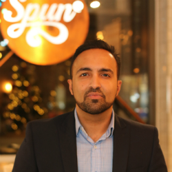 Shakil Mohammed, CEO, Spun Candy (Image credit Spun Candy)