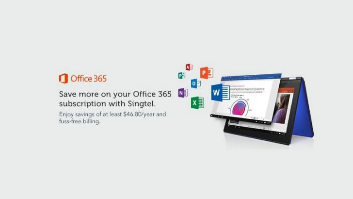 Singtel offers Office 365 to consumers