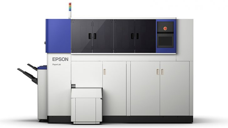 Epson showcases PaperLab, creating new paper out of secure waste