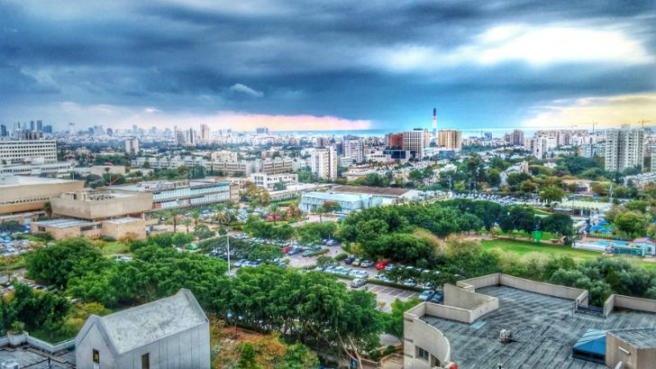 Storm in Tel Aviv (Image credit Pixabay/TomUrbach)