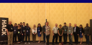 HACKATHON for good winners F8 and Ino Health (Image credit NetSuite)
