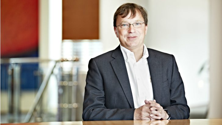 Klaus-Michael Vogelberg, chief technology officer of Sage (Image credit Sage.com)