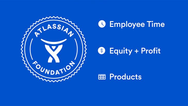 Atlassian Foundation Pledge 1% programme