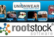 Unionwear is underpinned by Rootstock ERP