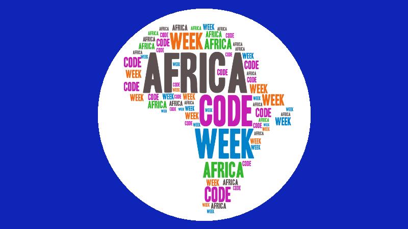 Africa Code Week logo (Image credit http://africacodeweek.org)