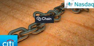 Chain joins together citi and NASDAQ (Image credit Pixabay/wsyperek (+ citi/NASDAQ/Chain)