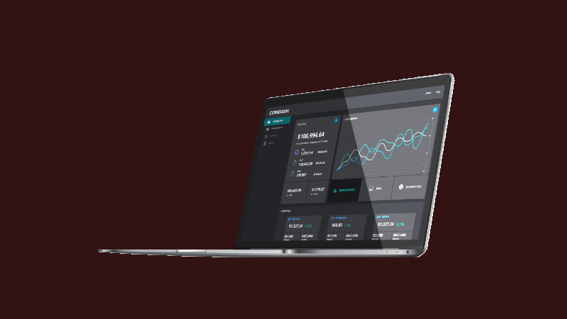Coindash, a crypto based social trading platform (Image Source: coindash.io)