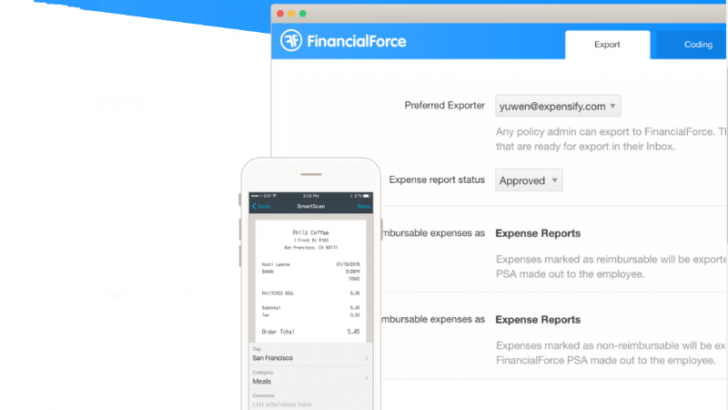 Expensify makes FinancialForce happy