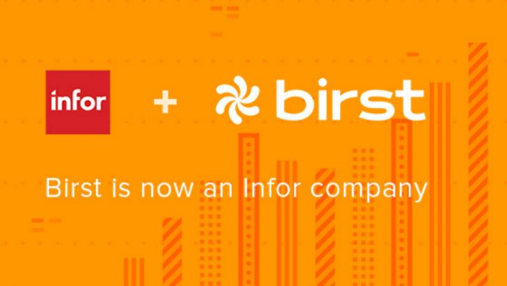 Infor closes Birst acquisition (Image credit Infor)