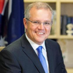 Hon Scott Morrison MP, Australian Treasurer (Image credit: https://twitter.com/scottmorrisonmp)