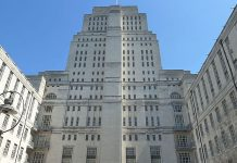 Senate House, University of London - Image credit : Bastique [CC BY-SA 3.0 (http://creativecommons.org/licenses/by-sa/3.0)], via Wikimedia Commons