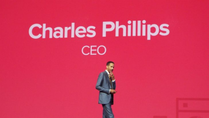 Charles Phillips, CEO, Infor on stage at Inforum (c) S Brooks 2017