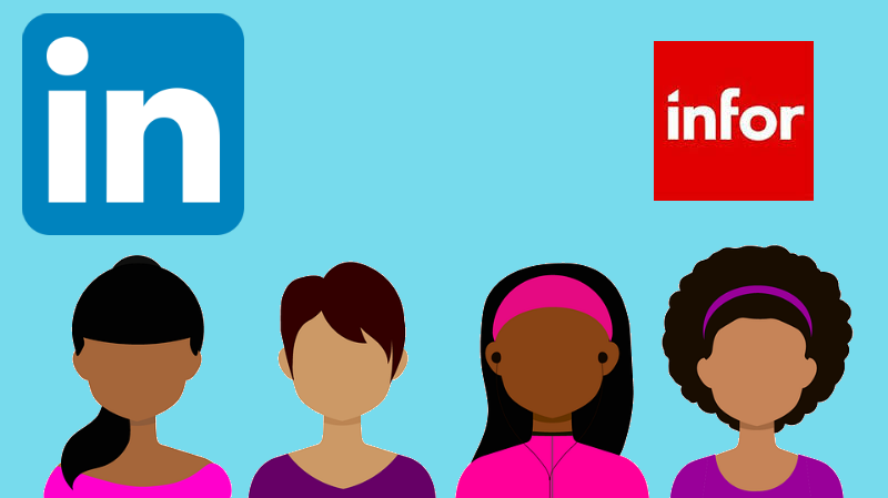 Infor links CRM to LinkedIn Sales Navigator (Image credit: Pixabay/Coffeebeanworks/Infor/LinkedIN)