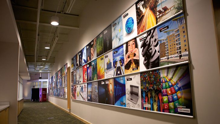 Rackspace customer wall