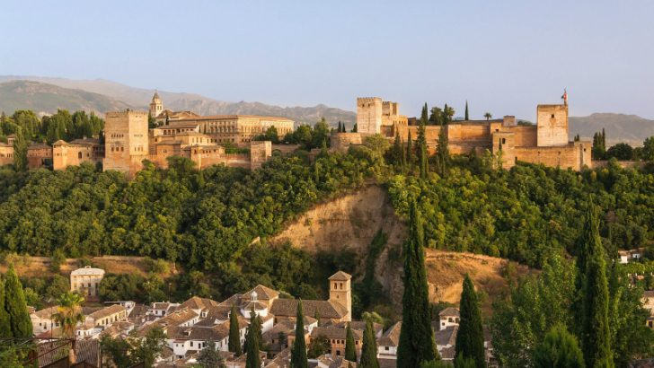 Alhambra fortress, Granada, Spain (Image source Pixabay/Wikimedia images