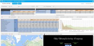 Example of Workspace in QAD DSCP 2017 Web Portal (iMAGE SOURCE QAD.COM)