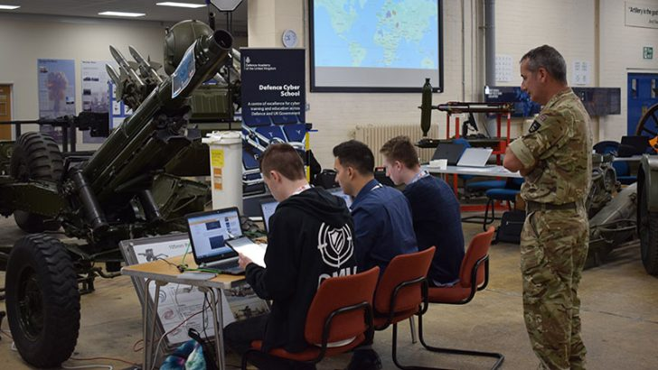 Cyber Security Challenge at the Defence Academy