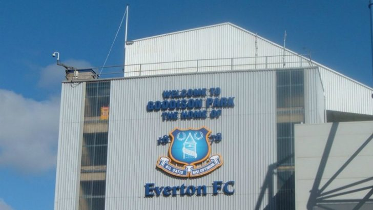 Everton FC : Goodison Park By Nsno1878 at English Wikipedia [Public domain], via Wikimedia Commons