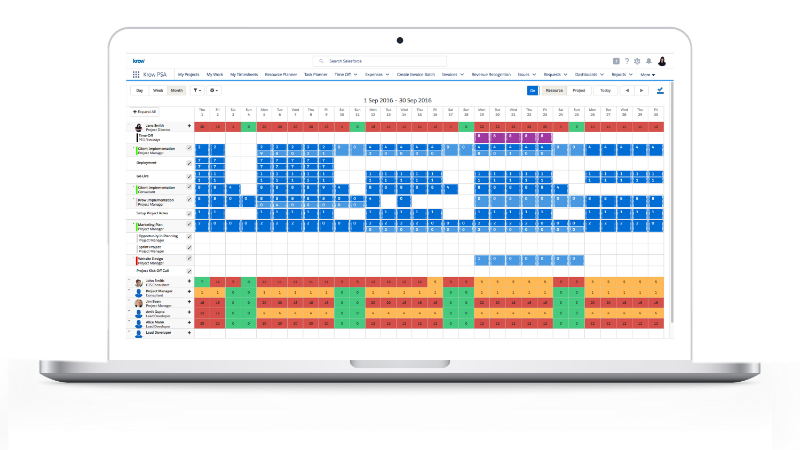 Krow Software screen planner (Image source https://krowsoftware.com/product/)