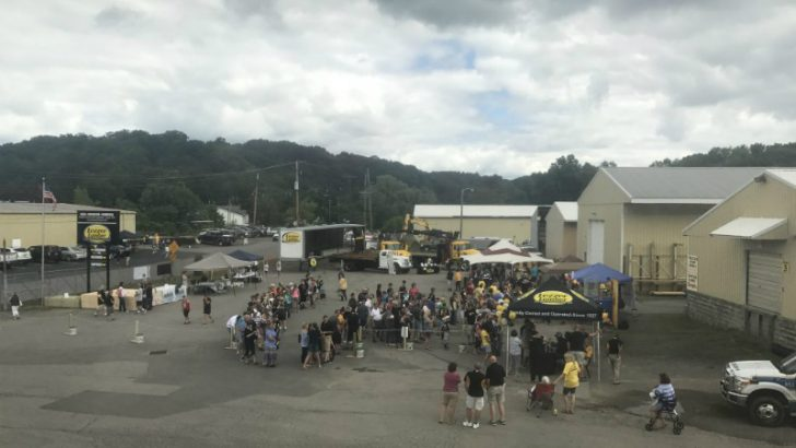 Lezzer Lumber 90th anniversary celebrations (Image credit Lezzer Lumber)
