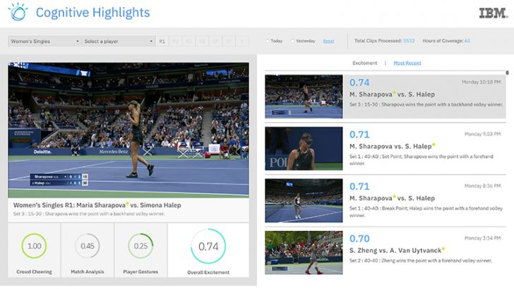 Watson Media takes to the court at US Open