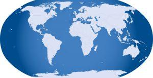 The world (https://pixabay.com/en/globe-world-map-earth-32299/)