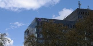 Grant Thornton in London By mattbuck (category) (Own work by mattbuck.) [CC BY-SA 2.0 (http://creativecommons.org/licenses/by-sa/2.0) or CC BY-SA 3.0 (http://creativecommons.org/licenses/by-sa/3.0)], via Wikimedia Commons