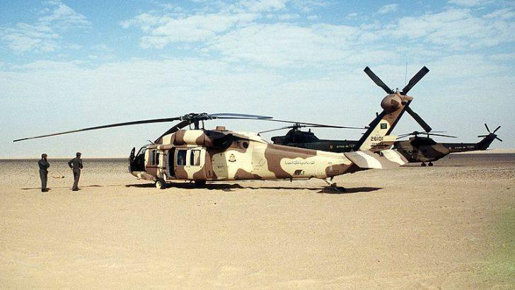 Saudi Sikorsky S-70 Desert Storm.jpg [x] By Tech. Sgt. H. H. Deffner [Public domain], via Wikimedia Commons